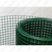 Сетка сварная пвх ( зеленая )