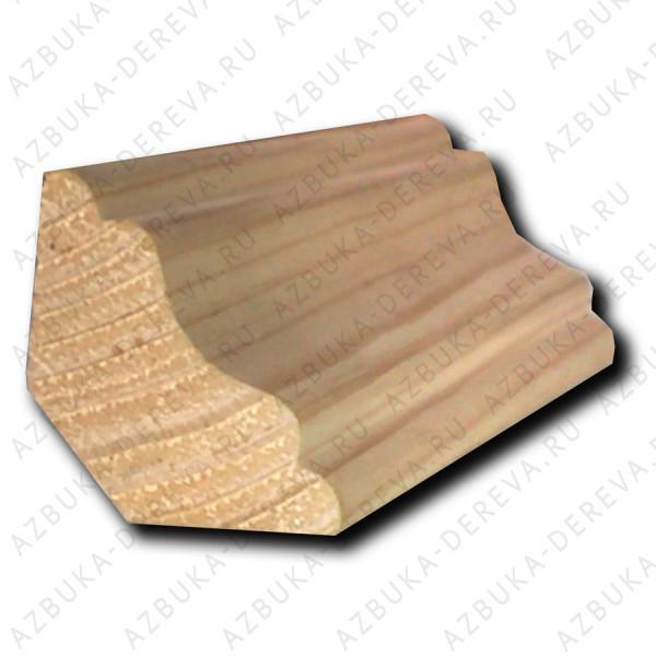 плинтус лиственница 25 мм