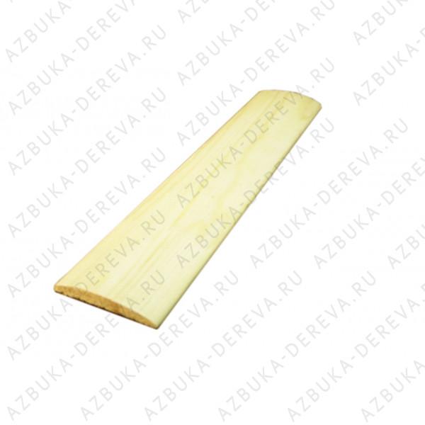 Наличник 70 мм деревянный ( сосновый) блок хаус м/п