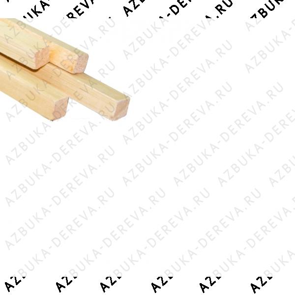 Рейка ( брусок ) строганный 20 х 20 мм.Сорт экстра