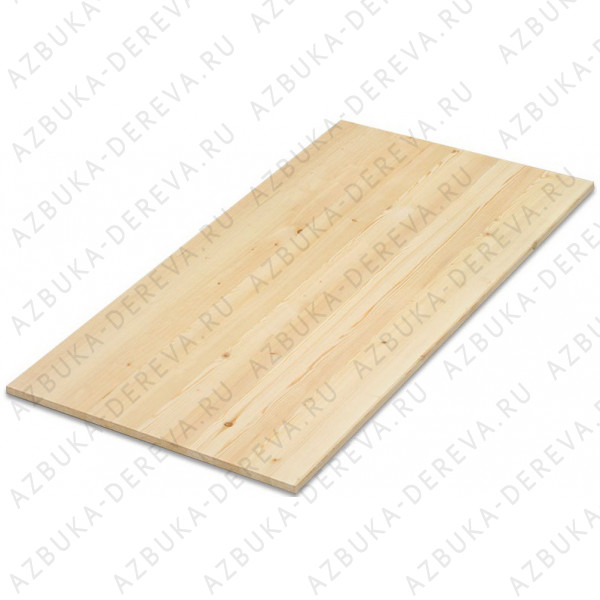 Щит мебельный сосновый 18х400х3000 мм.категории А/ А