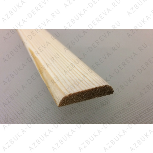 Раскладка сосновая 50 мм. гладкая м/п