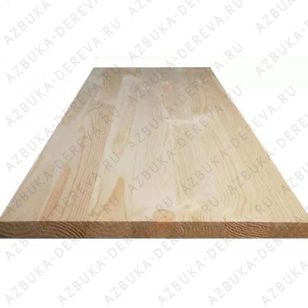 Мебельный щит лиственница 40х300/400/500/600 длина 2000 до 3000 мм. сращенный м2