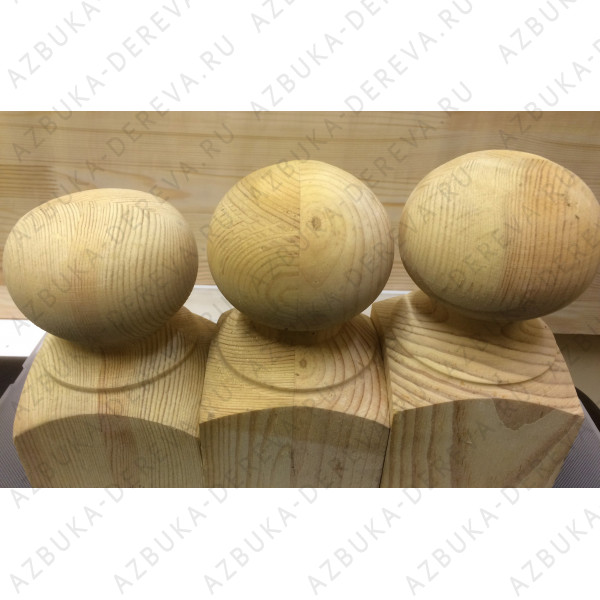 Шар деревянный 100х100 мм