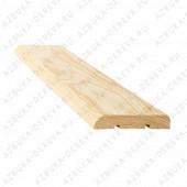 Наличник 70 мм деревянный (ель ) гладкий