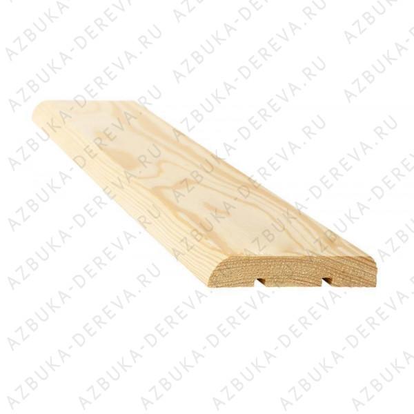 Наличник 50 мм деревянный ( сосновый) гладкий м/п.