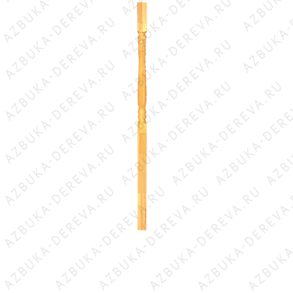 Столб-колонна сосновый100 х 100 х 3000 мм. Класс А/A