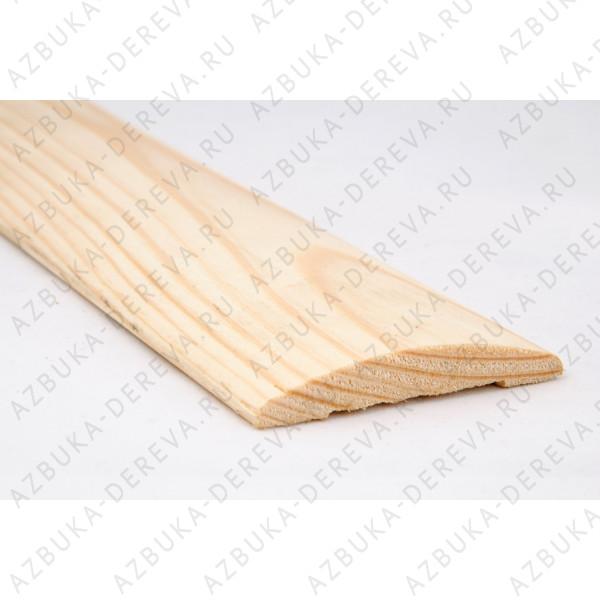 Наличник 90 мм сосновый ( деревянный) блок хаус м/п