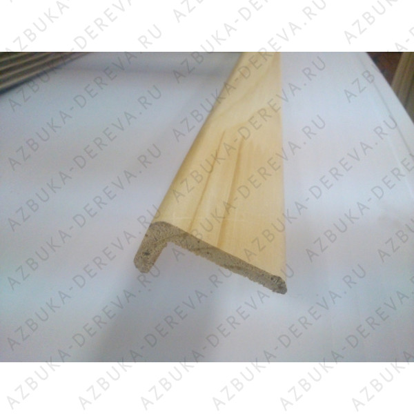 Уголок 20х40 мм деревянный гладкий