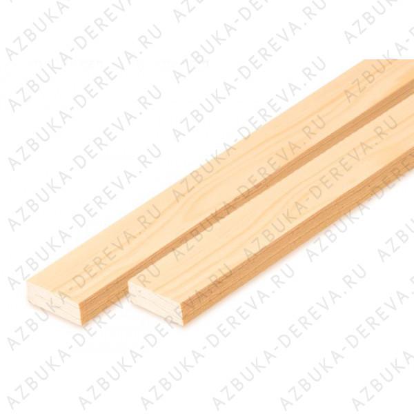 Рейки строганные (брусок) 20 х 40 мм. м/п