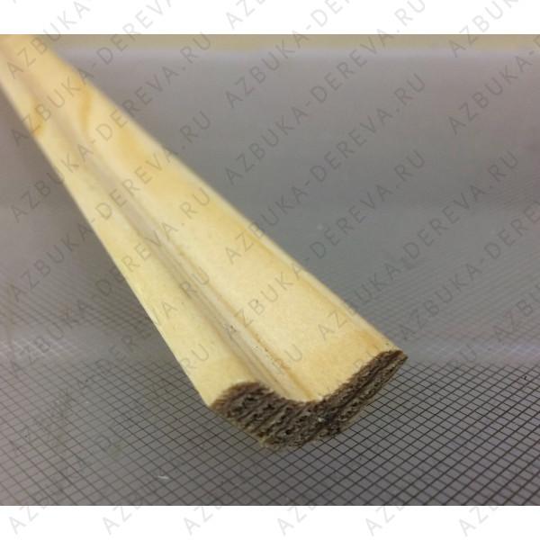 Плинтус сосновый 45 мм. гладкий