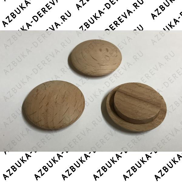 Заглушка деревянная Бук 20х30 мм